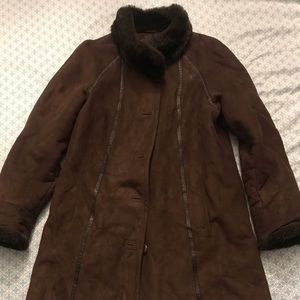 Gallery Jackets & Coats - Heavy Suede Jacket